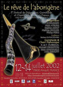 affiche de 2002 du rêve de l'aborigène
