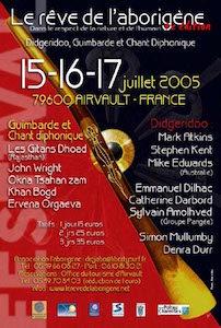 Affiche de l'édition 2005