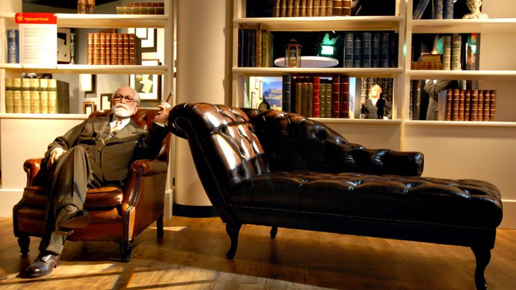The psychoanalyst Freud on his room