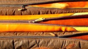 Some didgeridoo covers with didgeridoo inside