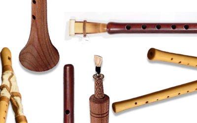 5 instruments à vent utilisant le souffle continu