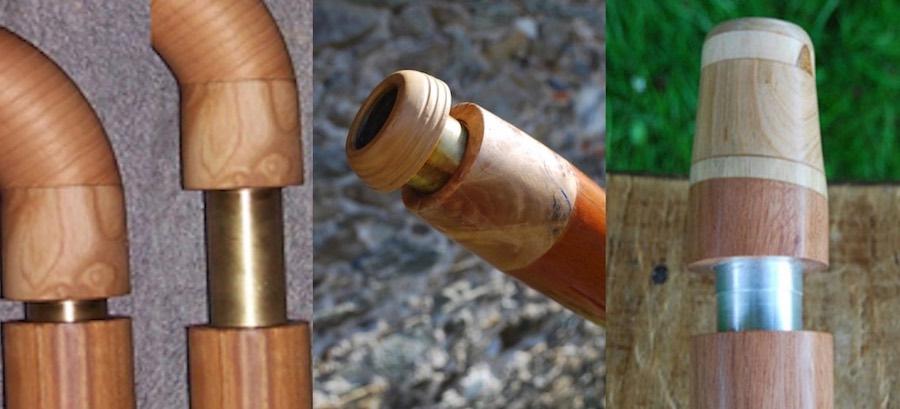 photo de différentes embouchures
