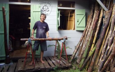 Podcast | Ces excellents didgeridoos en agave qui viennent de La Réunion, rencontre avec Véfoun