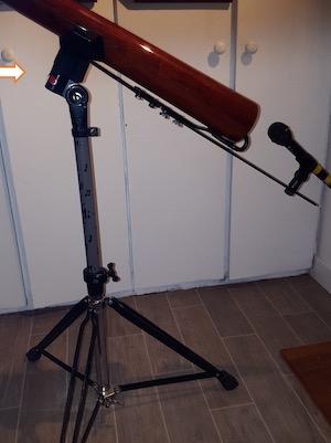 bague d'inclinaison du trépied de didgeridoo