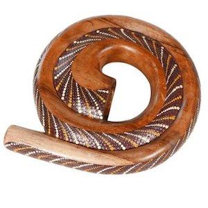 Didgeridoo en forme de spiral